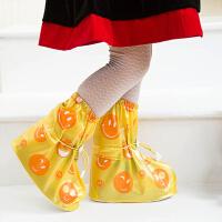 儿童雨鞋套加厚防滑耐磨 防水鞋套 男女儿童防雨鞋套