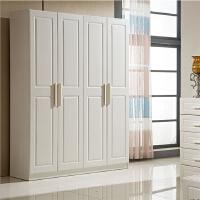 现代板式衣柜二三四五门组合简约整体衣柜衣橱 卧室平开门衣柜