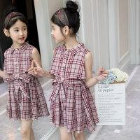 女童夏装连衣裙中大童三四3五4六5七6八7九8十10岁小女孩公主裙子