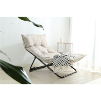 潮土椅子可折叠懒人沙发宜家家居休闲窝猫椅子现代简约旗舰家具店