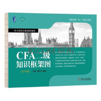 【正版特价】CFA二级知识框架图|231235
