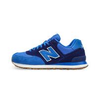 New Balance新百伦 NB 574系列 男鞋复古跑步鞋休闲运动鞋 ML574SEC/蓝色