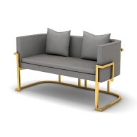 店铺沙发茶几组合办公工作室家具现代咖啡厅服装店铁艺沙发卡座椅 其他