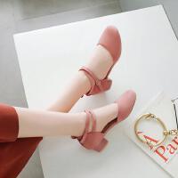 韩版时尚公主真皮女童凉鞋夏季中大童儿童鞋子包头高跟鞋