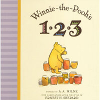 Winnie-the-Phooh's 123[Boardbook]小熊维尼的123[卡板书]ISBN978052542
