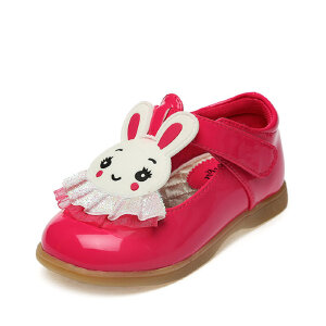 SHOEBOX/鞋柜 新款学步鞋女童童鞋甜蜜可爱卡通韩版公主鞋单鞋