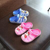 室内居家幼儿宝宝小孩浴室防滑凉拖鞋2-8岁女童软底儿童拖鞋