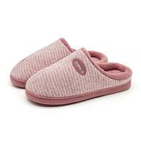 棉拖鞋家居家室内新款时尚厚底可爱情侣男女保暖防滑毛毛拖鞋