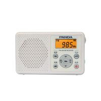 熊猫/PANDA 6105 收音机老人迷你便携式随身听袖珍式半导体 白色