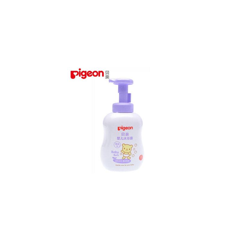 pigeon/贝亲婴儿泡沫型沐浴露 新生儿沐浴乳 宝宝浴液500ml IA118