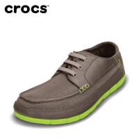 【下单立减120】弹力帆布卡洛驰crocs专柜正品代 男士舒跃奇系带鞋|14774 男士舒跃奇系带鞋