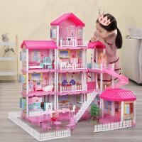 【限时抢】糖米公主屋过家家玩具仿真公主城堡套装模型别墅儿童生日礼物