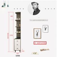 北欧衣柜现代简约经济型小户型卧室组装衣橱实木衣杆两门简易柜子 2门 组装