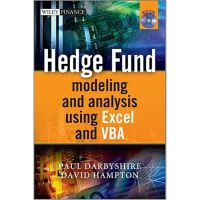 Hedge Fund Modeling and Analysis Using Excel and,Hedge Fund