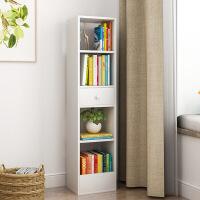 简约书架落地置物收纳小柜子自由组合格子储物柜多功能书柜简易