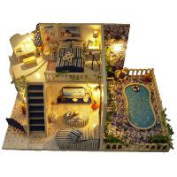 diy小屋 圣托里尼岛 创意礼物 生日礼物 益智玩具