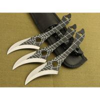 spike 蜘蛛爪 3支装手工军迷收藏 创意工具刀 野营户外直刀 儿时梦想 直刀 军迷收藏