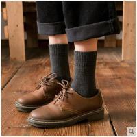 厚袜子女冬季羊毛袜保暖冬天日系毛巾长袜女中筒袜加厚加绒学院风