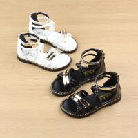 女童罗马凉鞋夏季公主鞋儿童沙滩鞋中小童女宝宝童鞋
