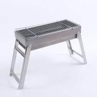 碳烤炉折叠烧烤架子木炭烤肉BBQ礼品便携木炭烧烤炉折叠野外烧烤炉架子