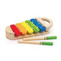 Hape早旋律小木琴12��月以上�和�益智玩具�胗淄婢咭�吠婢�