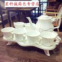 英式骨瓷咖啡杯套装欧式下午茶茶具创意陶瓷杯简约家用红茶杯dm A款021