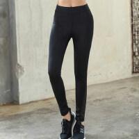 大码运动裤女胖mm200斤高腰健身房跑步弹力健身裤紧身瑜伽打底裤