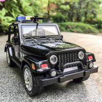 防爆装甲车玩具汽车模型仿真合金110特警察车玩具警匪大战过家家