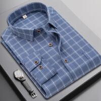 格子衬衫男长袖韩版商务休闲衬衣青年帅气寸衫潮