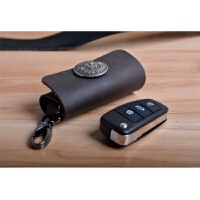 真皮牛皮汽车钥匙包 手工腰挂汽车遥控钥匙包扣 车用钥匙包套