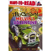 Melvin's Valentine (Trucktown Ready-to-Roll),Melvin's Valen