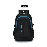 2018年时尚电脑双肩背包潮流旅行男士电脑包高中学生书包背包新款