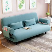 良木家居客厅小户型客厅双人沙发折叠床宜家布艺沙发床旗舰店官方
