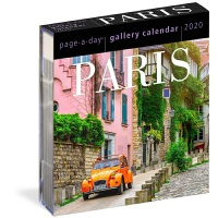 Paris Page-A-Day Gallery Calendar 2020 日历