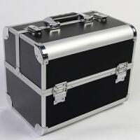 大号纹绣工具箱化妆箱纹绣箱多层两把锁化妆工具箱防水美甲箱