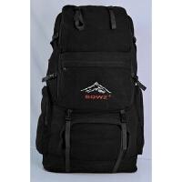 新款登山包帆布160L超大容量男士双肩包旅行170L特大号双肩大背包