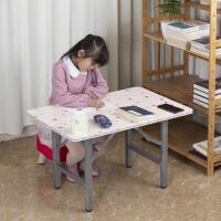 小学生写字桌女孩儿童学习桌写字小书桌家用小桌子折叠小孩吃饭桌