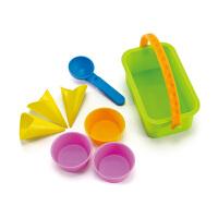 Hape冰激凌套1-6岁儿童沙滩玩具坚固耐用运动户外玩具沙滩玩具E4002