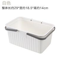手提式洗漱用品洗澡篮子洗浴篮浴室篮塑料桌面收纳篮置物篮洗浴筐