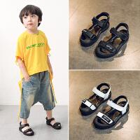 男童鞋子夏季儿童沙滩鞋宝宝中大童包头凉鞋