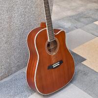 初学者女男初学入门乐器电箱吉他民谣吉他40寸41寸木吉他