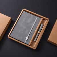 个性创意实用笔记本钢笔套装 金属签字笔刻字定制印logo 男士女士公司奖品会议年会纪念商务礼品*送客户