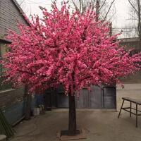 假树仿真大型植物桃花树 仿真樱花树仿真桃花树许愿树桃花装饰