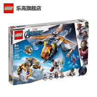 【当当自营】LEGO乐高积木 12月新品超级英雄系列76144 复仇者联盟直升机-空降浩克