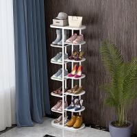 家用经济型组装家里人门口小鞋柜铁艺多功能鞋架多层简易防尘