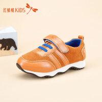 红蜻蜓童鞋经典拼接百搭魔术贴运动舒适男童儿童休闲鞋511X6D1L04