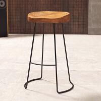 实木吧台桌咖啡奶茶店靠墙酒吧高脚桌椅现代简约长桌家用创意桌子