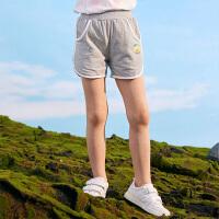 【3件3折到手价:46】小猪班纳童装女童裤子中大童休闲裤2020夏季新款儿童时尚短裤微弹