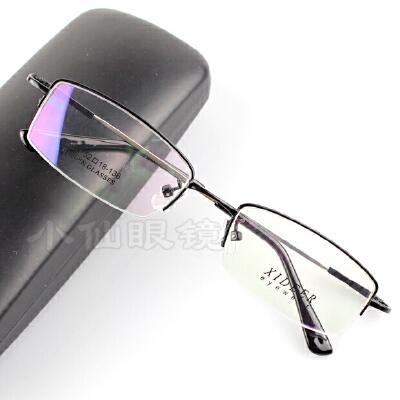 超轻可弯曲男士半框记忆钛合金近视眼镜架眼镜框老花镜平光镜 发货周期:一般在付款后2-90天左右发货,具体发货时间请以与客服协商的时间为准