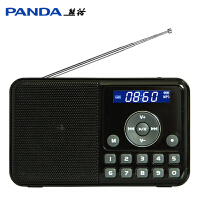 PANDA/熊猫 DS-172老年收音机老人随身听听歌机录音机插卡充电播放器迷你小音箱音响小型播放机老年人听戏机